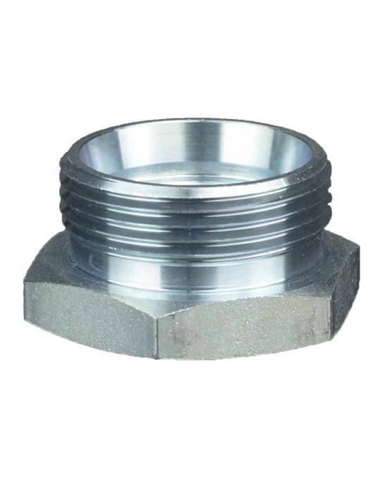 Tapón hidráulico macho BSP, disponible en varias medidas