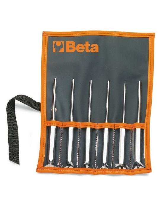 Juego de 6 botadores de pasadores elásticos (art. 31SE) en sobre 31/B6-LSE 000310320 Beta